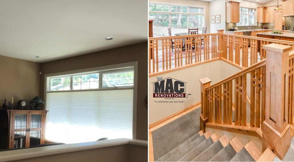 before and after pics - MAC renovation Victoria