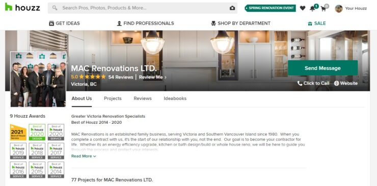 MAC Renovations Ltd - Houzz Profile